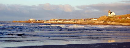 Self catering holiday accommodation in Gardenstown, Aberdeenshire, Scotland